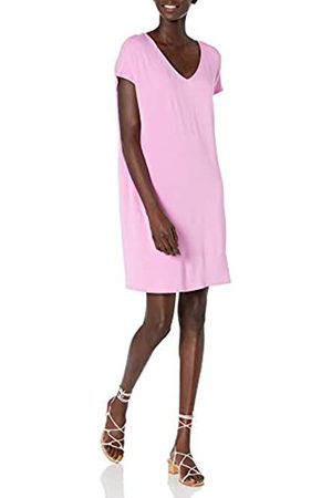 Daily Ritual Supersoft Terry Dolman-Sleeve V-Neck Dress Kleid S