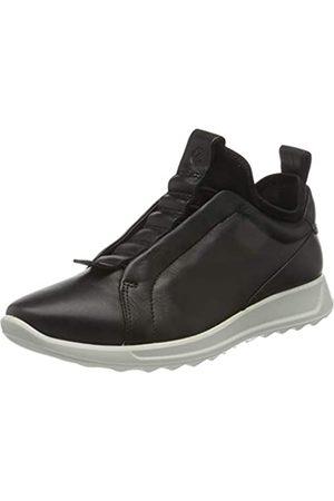Ecco Damen Flexure Runner Sneaker, Black