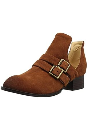 Sbicca Women's Forager Ankle Bootie, Tan