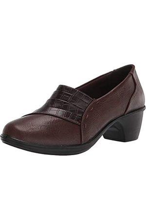 Easy Street Women's Fashion Boot, Tan/Brown Croco