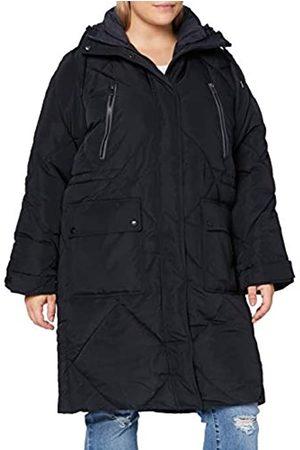Lee Damen Westen - Womens Elongated Puffer Jacket, Black