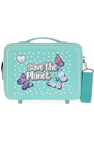 MOVOM Movom Save the Planet Anpassungsfähiger Schönheitsfall 29x21x15 cms ABS