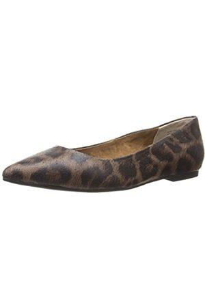 Seychelles Bekannte Flache Damenjacke, Braun (Leopard)
