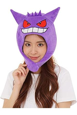 SAZAC Kigurumi Mütze Pokemon Gengar Cozy Kostüm Beanie Cap Erwachsene Größe Lila