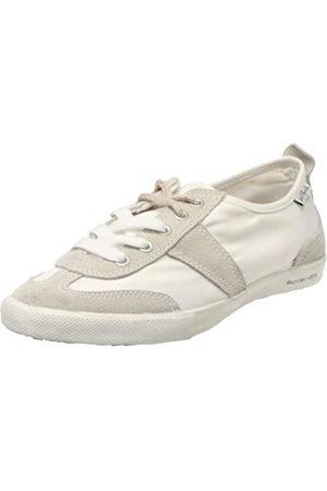 People'Swalk People's Walk Grant 0412W, Damen Sneaker, (Blanc (White))