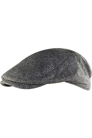MINAKOLIFE Herren Weiche Ballon- Flatcap Ivy Stretch-Treiber Jagd Hut (grau)