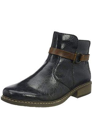Rieker Damen Z41A5 Mode-Stiefel
