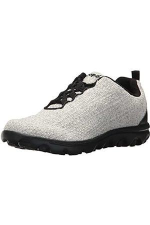Propet Propet Women's TravelActiv Woven Walking Shoe, Winter White