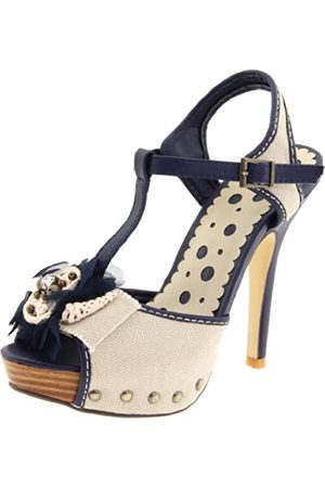 Not Rated Charmed Life Damen-Sandale, (Navy)