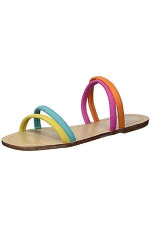 Coolway Damen Slide Sandale, Mehrfarbig (Nat)