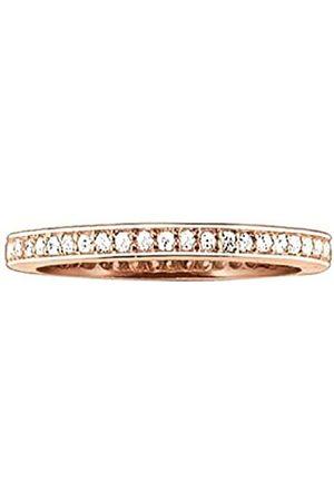 Thomas Sabo Thomas Sabo Damen-Ring Silber vergoldet Zirkonia weiß Gr. 56 (17.8) - TR1983-416-14-56