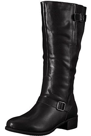 Propet Propet Women's Teagan Riding Boot, Black
