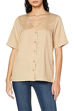 Pieces Damen PCMARYLEE SS V-Neck TOP BC Bluse