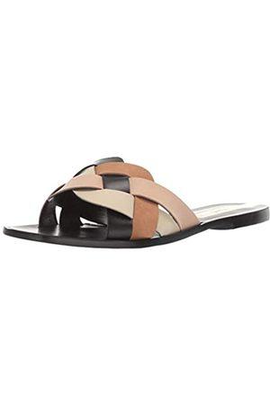 KAANAS Damen GRAMADO Multi-Color Braided Flat Slide Flache Sandale