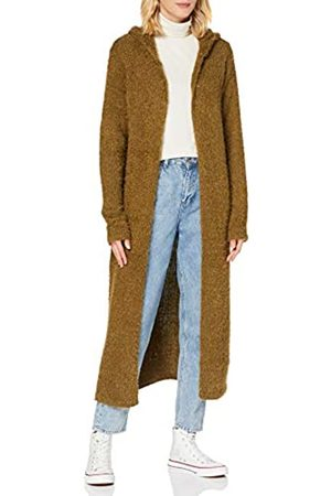 Urban classics Damen Ladies Hooded Feather Cardigan Kapuzenpullover