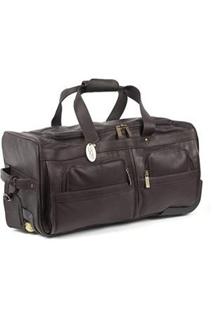 Claire Chase Claire Chase Rolling Duffel (Braun) - 233