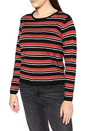 Blue Seven Damen Streifen, Rundhals Pullover