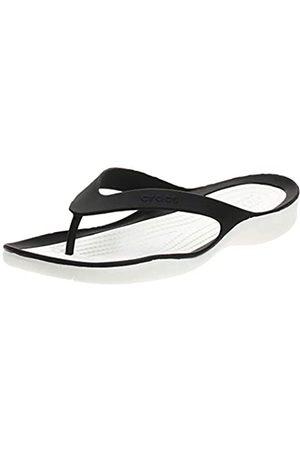 Crocs Croc's Damen Swiftwater Flip W Clogs,Black/White