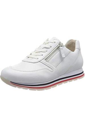 Gabor Damen Comfort Basic 46.368 Sneaker, (Weiss(S.W/ /Bla) 51)
