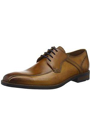 Clarks Herren Schnürschuh Halbschuhe Schuhe Leder Komfort flexible Sohle marine