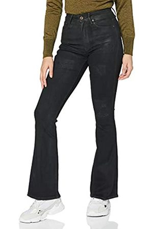 G-Star Womens 3301 High Waist Flare Skinny Jeans