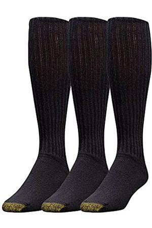 Gold Toe Herren Unterwäsche - Ultra-Tech-Performance über 3 Kalbs-Sportsocken für Männer Schuhgröße: 39-45