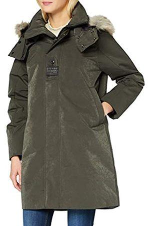 G-Star Damen Westen - Womens Tech pdd HDD Faux fur Long JKT wmn Jacket