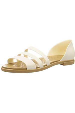 Crocs Damen 206109-1CQ_41/42 outdoor sandals, White
