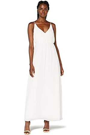 TRUTH & FABLE Amazon-Marke: Damen Maxi-Boho-Kleid aus Chiffon, 42