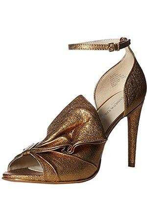 Kenneth Cole New York Damen Blaine Oversize Bow Stilleto Dress Sandalen mit Absatz