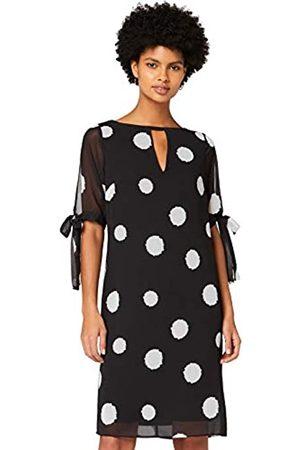 TRUTH & FABLE Amazon-Marke: Damen Chiffon-Kleid mit A-Linie, 42