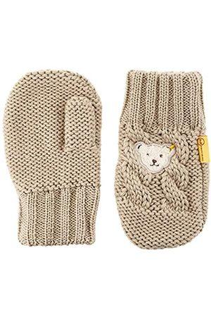 Steiff Jungen mit süßer Teddybärapplikation Handschuhe
