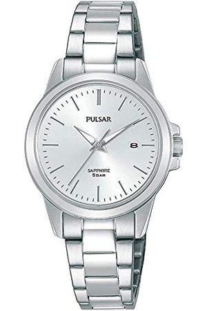Pulsar Pulsar Quarz Damen-Uhr Edelstahl mit Metallband PH7501X1