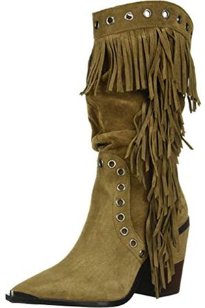 Kenneth Cole New York Damen West Side MID Fringe Mode-Stiefel