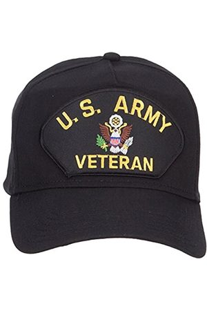 e4Hats.com E4Hats.com US Army Veteran Military Patched 5 Panel Cap - - Einheitsgröße