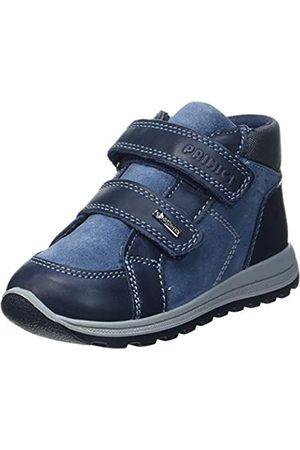 Primigi Baby Jungen PTIGT 63568 First Walker Shoe, Notte/Azzurro