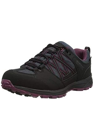 Regatta Damen Ldy Samaris Lw II Walking Shoe, Black/Purple
