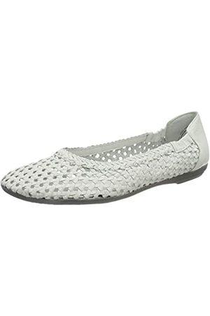 Marc Shoes Damen Schuhe Ballerina Janine Glattleder (White