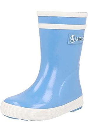 Aigle Aigle Unisex-Kinder Baby Flac Gummistiefel, Blau (Bleu Ciel)