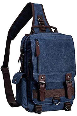 El-fmly El-fmly Messenger Sling Bag Crossbody Schulterrucksack Outdoor Reisen Sport Laptop für Herren