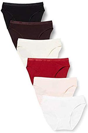 Dim Damen Slips - Damen Slip Les Pockets Coton Eco X6 Dessous