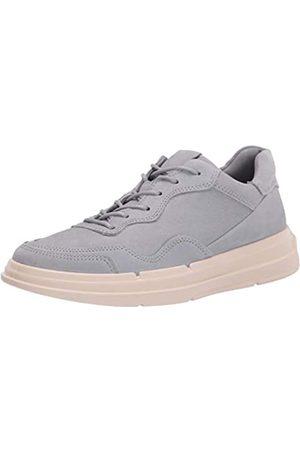 Ecco Damen Soft X Sneaker, (Silver Grey)