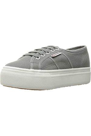Superga Damen 2790 Platform Fashion Sneaker, ( (Grey Sage))