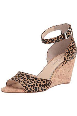 Jessica Simpson Damen Cervena2 Keilabsatz-Sandale