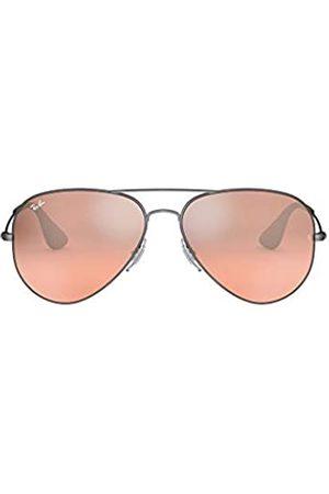 Ray-Ban Unisex-Erwachsene RB3558 Sonnenbrille, Schwarz (Antikschwarz,Schwarz / Verlauf Verspiegelt)