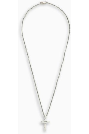 EMANUELE BICOCCHI Sterling silver 925 cross necklace