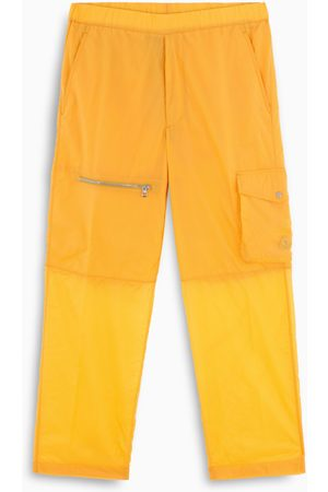 Moncler 1952 Yellow trousers with pockets