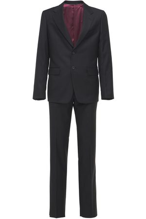 Gucci Natural Wool Blend London Suit
