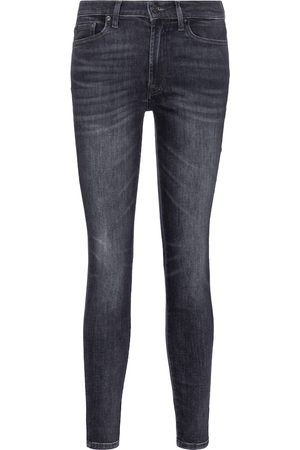 7 for all Mankind Damen Slim - High-Rise Skinny Cropped Jeans Slim Illusion