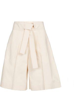 Jil Sander Damen Shorts - Shorts aus Baumwolle